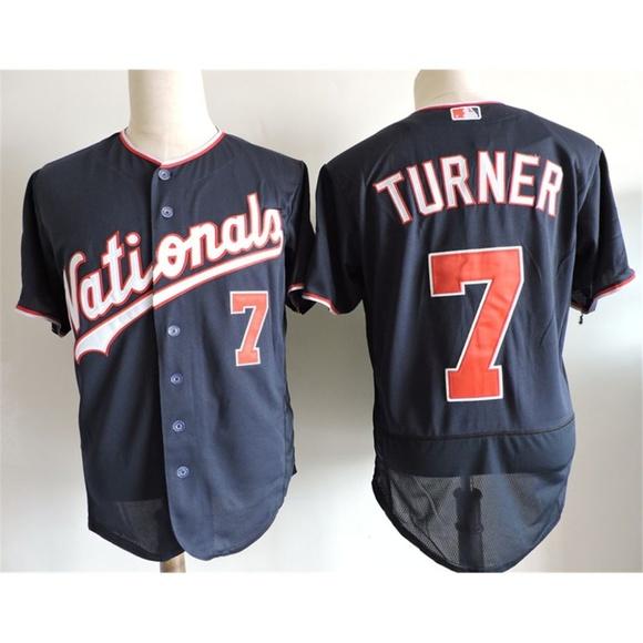 brand new 843af 5014d Washington Nationals Trea Turner Jersey